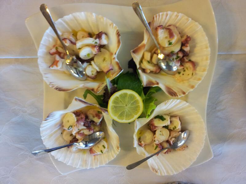 Morski sadeži - Gostilna Zupančič
