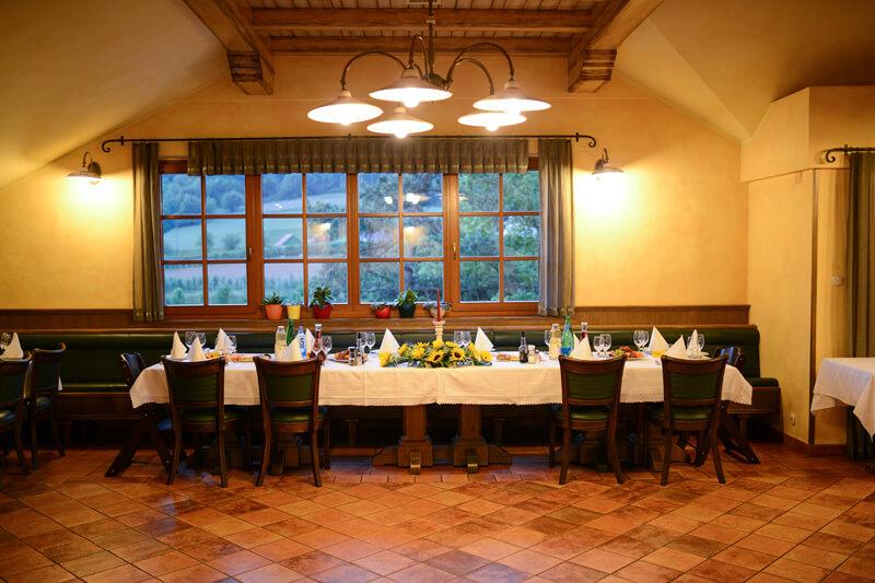 Poročna miza - Gostilna Zupančič